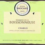 Chablis, Boissonneuse