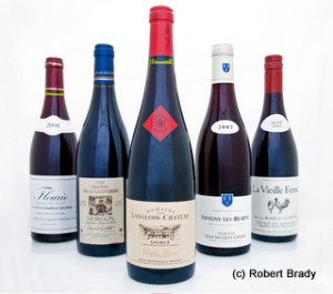 Wines reviewed below