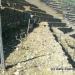 Original stone terrace