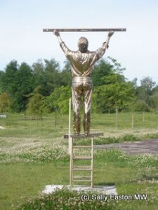 The man who measures clouds, by Jan Fabre