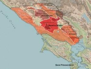 Sonoma County Wine Regions